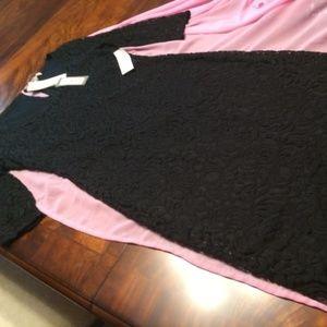 New Eva Mendes Black Lace Dress from NY&C (10)